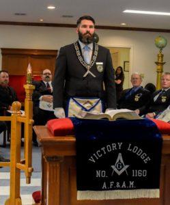 Worshipful Master-David Walker